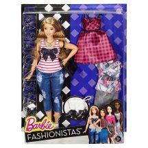 Barbie Fashionistas babák ruhákkal és kiegészítőkkel 37. - EVERYDAY CHIC