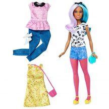 Barbie Fashionistas babák ruhákkal és kiegészítőkkel 42. - BLUE VIOLET