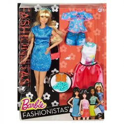 Barbie Fashionistas babák ruhákkal és kiegészítőkkel 43. - LACEY BLUE