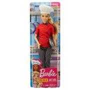 Barbie Karrierbabák - Szakács baba (szõke)