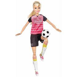 Barbie Sportoló babák - SZŐKE HAJÚ FOCISTA