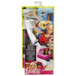 Barbie Sportoló babák - SZŐKE HAJÚ HARCMŰVÉSZ