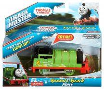Fisher-Price Thomas TrackMaster szikrázó mozdonyok - PERCY