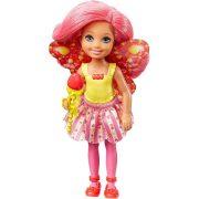 Barbie Dreamtopia - Sárga felsős tündér Chelsea baba