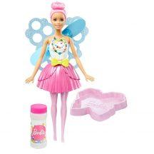Barbie: Dreamtopia buborékfújó tündérbaba - RÓZSASZÍN HAJ