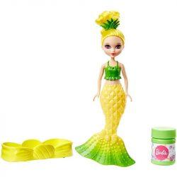 Barbie: Dreamtopia buborékfújó mini sellők - SÁRGA ANANÁSZ