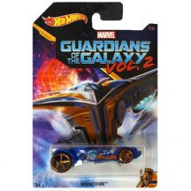 Hot Wheels A Galaxis Őrzői 2 kisautók - ROCKETFIRE 7/8