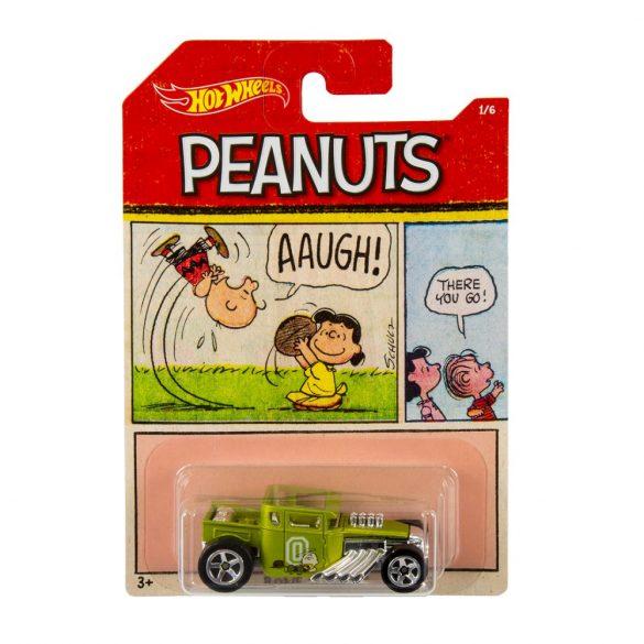 Hot Wheels Peanuts kisautók - BONE SHAKER 1/7