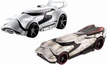Hot Wheels Star Wars karakter kisautók 2 db-os csomag - First Order Stormtrooper & Captain Phasma