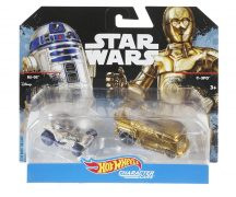 Hot Wheels Star wars karakter kisautók 2 db-os csomag - R2-D2 & C-3PO