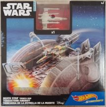 Hot Wheels Star Wars Csillaghajók közepes pálya - MANŐVER A HALÁLCSILLAG HŐKIVEZETŐJE FELÉ