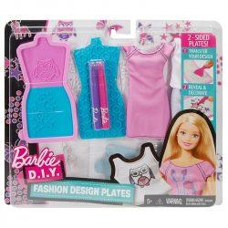 Barbie D.I.Y. ruhatervező szett - rózsaszín-türkiz