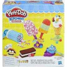 Play-Doh Kitchen Creations Fagyos csemegék gyurmaszett