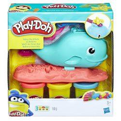 Play-Doh: Wavy a bálna gyurmakészlet