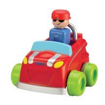 TOMY Nyomd meg és menj jármű - Piros autó
