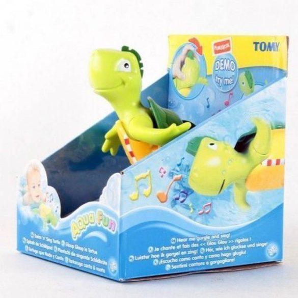 TOMY Éneklő, úszó teknős