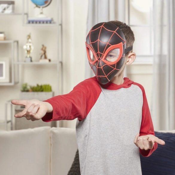 Pókember hős maszk (fekete)