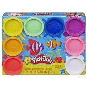 Play-Doh Tégelyes gyurmakészlet (8db-os) - Szivárvány