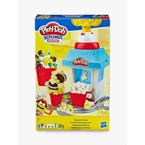 Play-Doh Kitchen Creations - Popcorn party gyurmakészlet