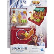 Jégvarázs 2 Pop Adventures - Falu játékszett Anna figurával