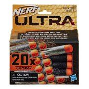 Nerf Ultra 20 db-os szivacslövedék utántöltő