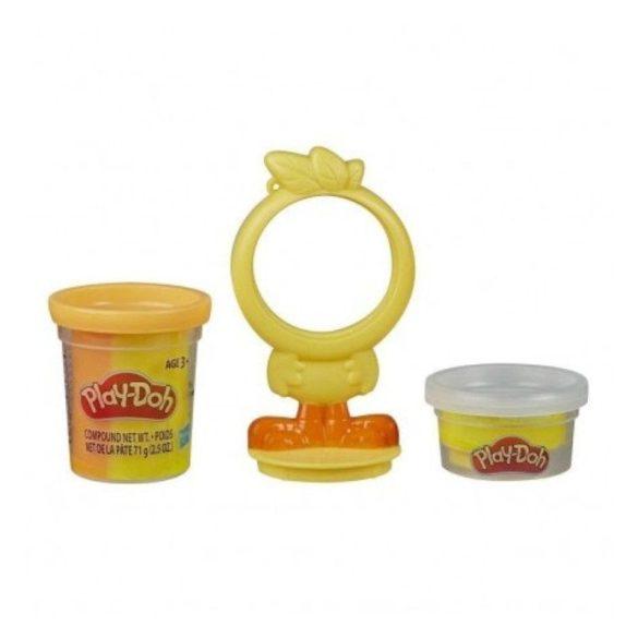 Play-Doh Tégelyes gyurma állatkás formával - Csibe