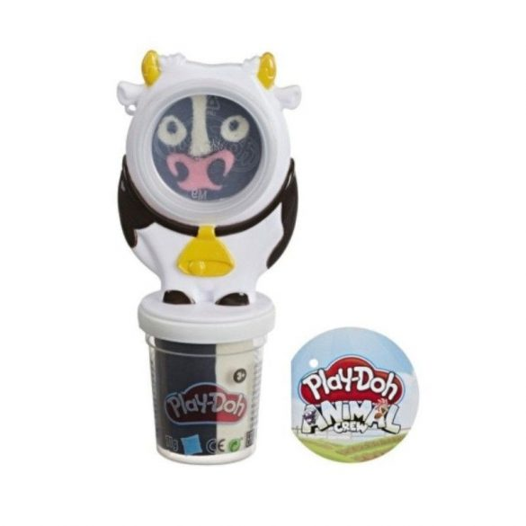 Play-Doh Tégelyes gyurma állatkás formával - Boci
