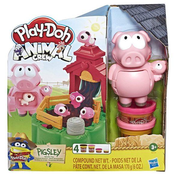 Play-Doh Animal Crew - Pigsley malacos gyurmaszett