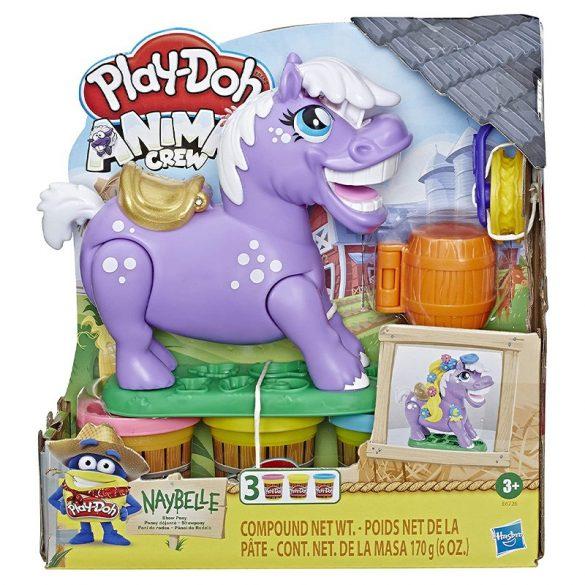 Play-Doh Animal Crew - Naybelle, a rodeó póni gyurmaszett