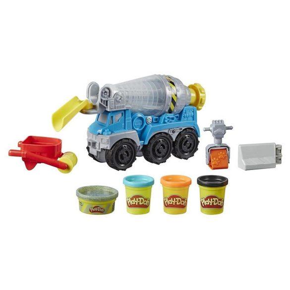 Play-Doh Betonkeverõ autó