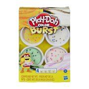 Play-Doh Színbomba készlet - Pasztell színek (sárga, fehér, zöld, rózsaszín)