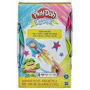 Play-Doh Elastix nyúlós gyurma készlet (4db-os - rózsaszín, türkiz, citromsárga, kék)
