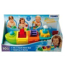 TOMY Felhúzható építőhajó fürdőjáték