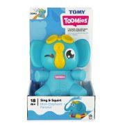 Tomy - Dalóló, spriccelő elefánt fürdőjáték