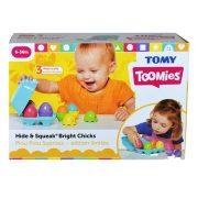Tomy Toomies - Kukucska kis csirkék formaillesztő