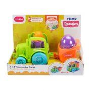 Tomy Toomies - Kukucska tojáskák 2 az 1-ben traktor