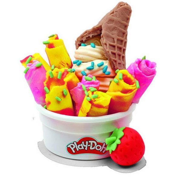 Play-Doh Kitchen Creations Thai fagylatkészlet gyurmaszett