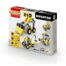 Engino Inventor munkagépek 8 az 1-ben