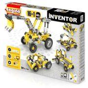 Engino Inventor Munkagépek 16 az 1-ben építőjáték