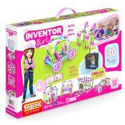 Engino Inventor Girl Motorizált lányos modellek 30 az 1-ben építőjáték
