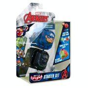 Marvel Kocka csata Starter Set - Amerika kapitány Fekete párduc ellen (2 db-os)