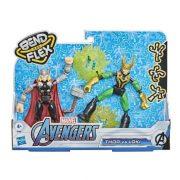 Avengers Bend & Flex - Thor vs. Loki 2 db-os figuracsomag