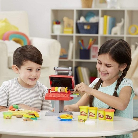 Play-Doh Kitchen Creations BBQ Grill Party gyurmakészlet