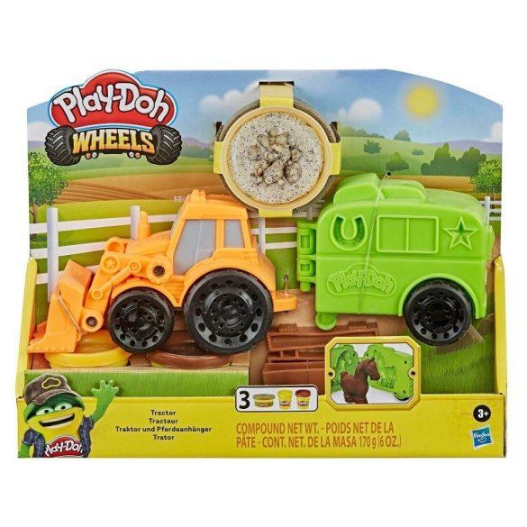 Play-Doh Wheels Traktor gyurmakészlet