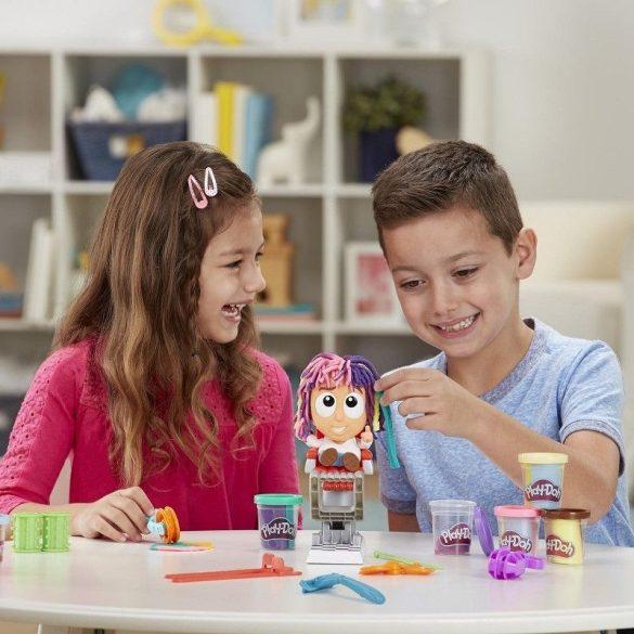 Play-Doh Õrült vágás fodrászat gyurmakészlet