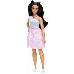 Barbie Fashionistas barátnők stílusos divatbabák 65. - POWDER PINK LACE