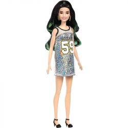 983ba1c30afe Barbie Fashionistas baba csillogós ruhában (110)