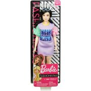 Barbie Fashionistas baba lila ruhában (127)