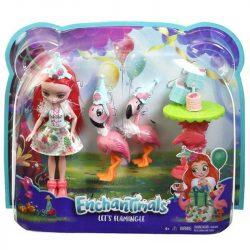 EnchanTimals flamingó móka játékszett - FANCI FLAMINGO