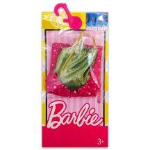 Barbie ruhák: Rózsaszín-arany ruha